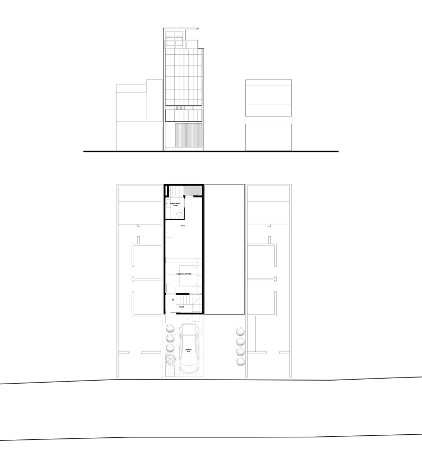 1. Site Plan - Elevation