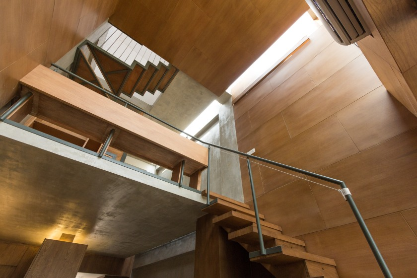compact house small minimalist urban abimantra pradhana arsitek jakarta rumah kecil