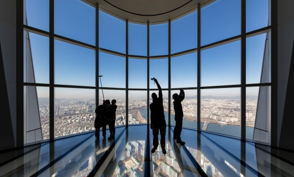 Kohn Pedersen Fox Seoul Korea Lotte World Tower skycraper highest builiding