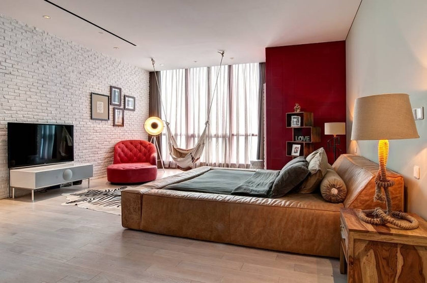 kare design interior germany pop art apartment penthouse colourful