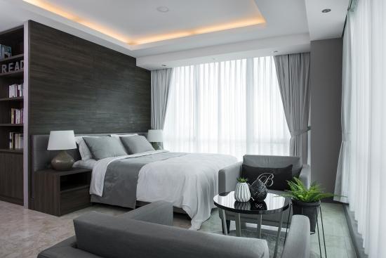 inplanindo desain interior penthouse apartemen jakarta makeover renovasi