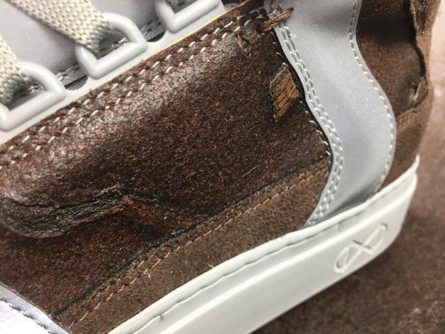 Nat-2 sepatu sneakers kopi coffee vegan