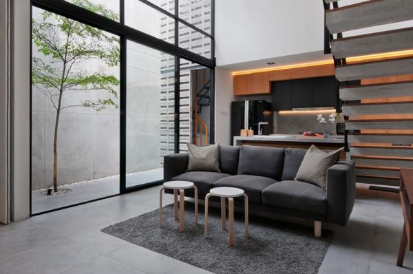 BROADGATE DESIGN RENOVASI TOTAL LAHAN 90 METER PERSEGI MODERN SIMPLE HOME HOUSE RUMAH BUARAN