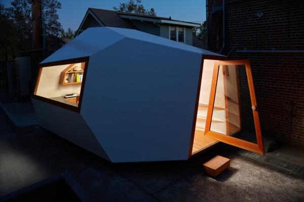 Knowhow shop kantor kecil menyala berpindah office architecture contemporary arsitektur kontemporer