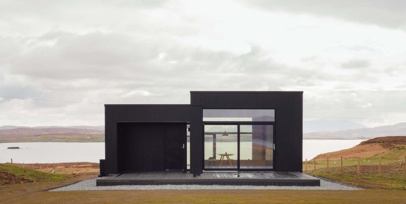 RUMAH LIBURAN PEDESAAN HARLOSH SKOTLANDIA DUALCHAS ARCHITECTS MODERN ARCHITECTURE MINIMALIST CONTEMPORARY ARSITEKTUR KONTEMPORER