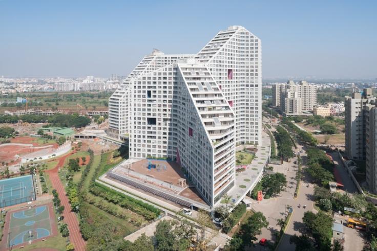 Future Towers MVRDV Pune India dsgntalk apartment urban housing architecure apartemen dutch