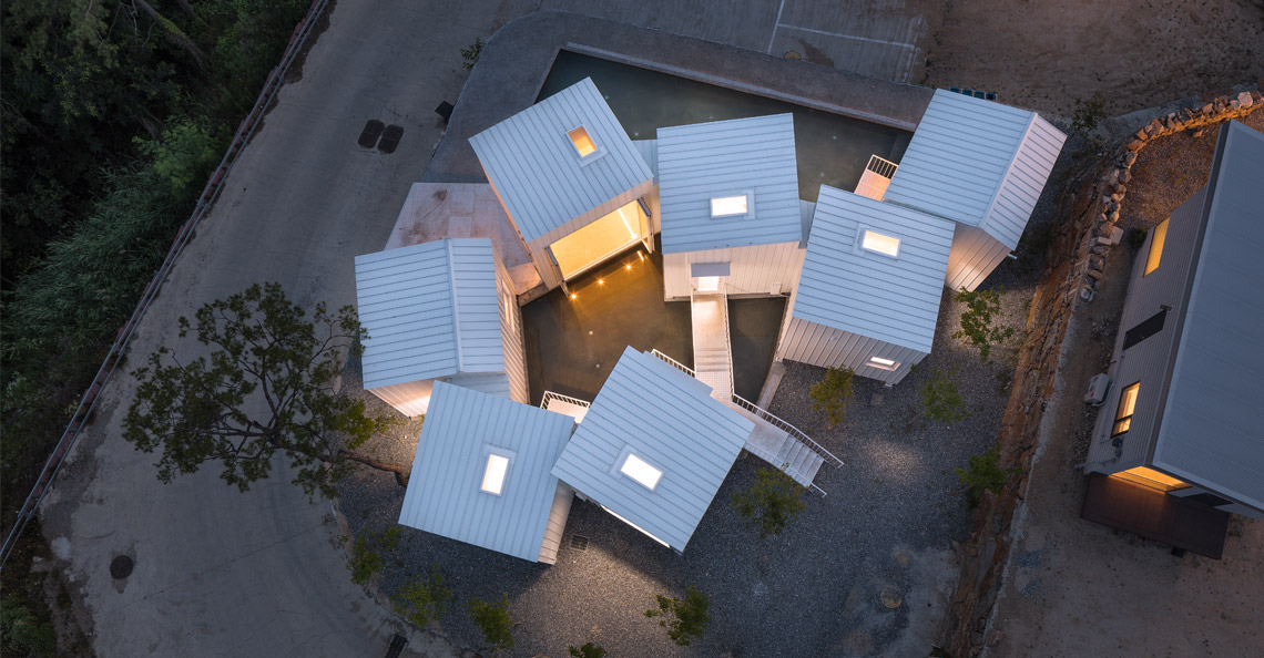 Younghan Chung Archiholic Floating Cubes dsgntalk Joon Hwan Yoon korea seoul architecture