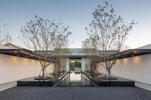 INDAHNYA BENTUK KONTEMPORER ARSITEKTUR TRADISIONAL SUZHOU CHINA RANCANGAN LACIME ARCHITECTS ARCHITECTURE COURTYARD DSGNTALK
