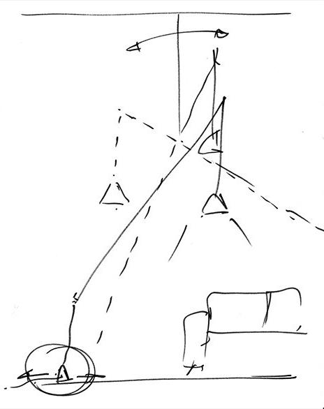 LAMPU DEKONSTRUKSI RANCANGAN ARIK LEVY UNTUK VIBIA ITALY LIGHTING DESIGN INTERIOR MODERN DSGNTALK
