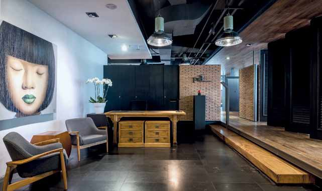 tHE AWARD WINNING WORKSPACE – PAI OFFICE