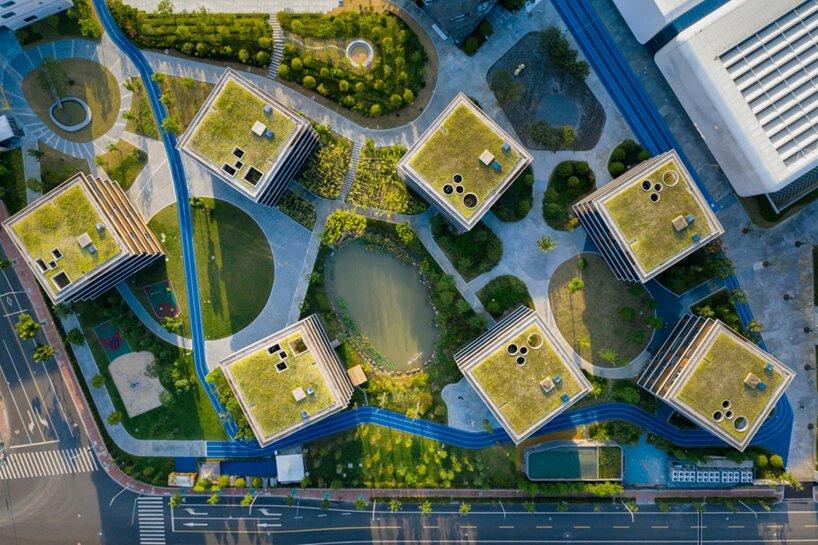 OPEN ARCHITECT MENGAMBIL KARAKTER PERKAMPUNGAN UNTUK DESAIN SEKOLAH DI SHANGHAI DSGNTALK CHINA URBAN LANDSCAPE ARCHITECTURE SCHOOL DESIGN