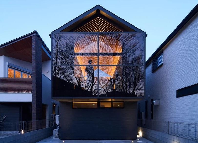 RUMAH MUNGIL SEBAGAI HUNIAN DAN TEMPAT BEKERJA YANG NYAMAN DI PINGGIR KOTA TOKYO DSGNTALK ARCHITECTURE HOME DESIGN JAPAN INTERIOR